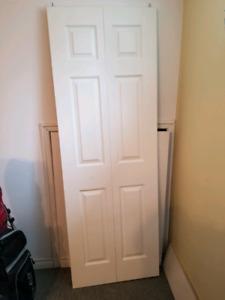 Porte pliante garde-robe
