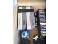 Nintendo nes 001 original x2 plus games bundle