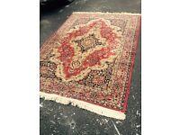 Beautiful vintage floor rug