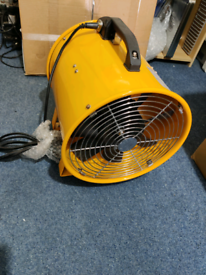 Extractor fan 12 inch size with 10 meter ducting