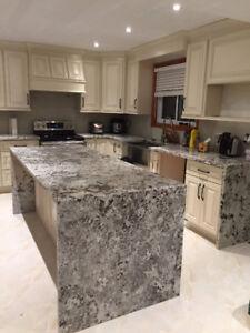 Granite and Quartz counter top for sales