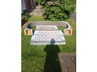 Caravan sofa/bed cushions