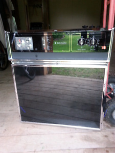 Black wall oven in very good condition