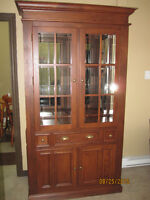 Solid Wood Buffet and Hutch Made in Canada