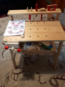 Melissa & Doug work bench