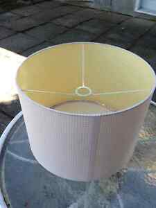 Pottery Barn drum light pendant