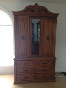 Gorgeous His &  Her Armoire
