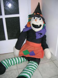 Grande sorcière Halloween