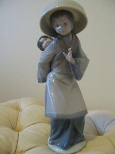 My precious bundle. Lladro porcelain figurine. New price