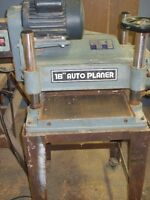 Toolex planer with stand