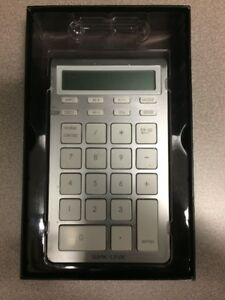 Bluetooth Calculator Keypad for Apple Mac Computer or PC