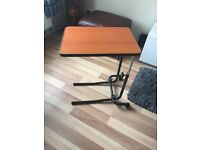 Table - for over bed or chair adjustable