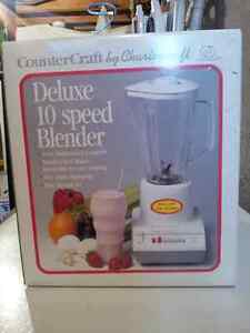 Deluxe 10 speed blender