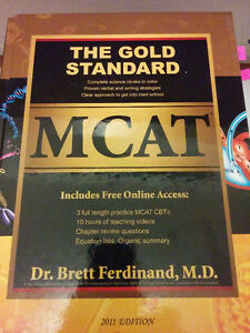The Gold Standard MCAT book (2011 Ed.) OBO