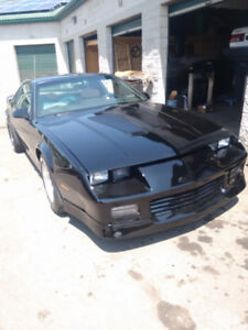 1987 Z28 IROC NASCAR SERIES WITH NASCAR FRONT CLIP