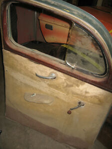 Pair of 1940 Ford Coupe doors, mint, sell or trade London Ontario image 4