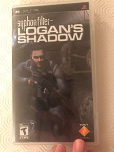 PSP game Syphon filter Logan's Shadow