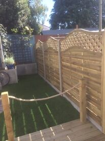 Looking to replace or repair your fence we can help at L C M Home Improvements