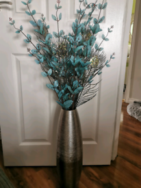 Tall Vase and flowers