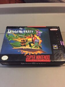 The pagemaster snes complete Nintendo