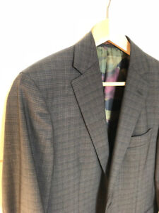 $1500 Etro Sport Coat Made In Italy (Small, Size 36)