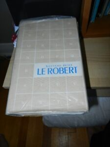 Back to School?   French Dictionary - Petit Robert