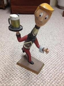 Blatz beer advertising Man statue display
