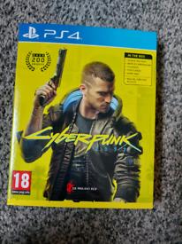 Cyberpunk 2077 PS4 game