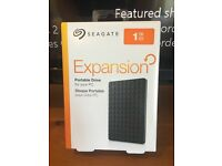 Seagate 3.0 USB 1TB external hard, PC, Xbox, PlayStation