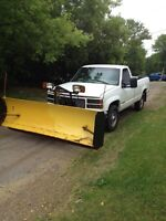 2500 gmc with plow