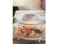JML halogen oven only used once an put back in box.