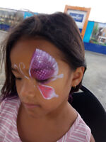 Face Painting  and Glitter Tattoo for 1 1 /2 hours for only $140