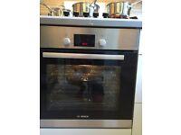Bosch integrated fan oven