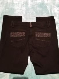 Women's black jeans-size 12