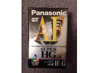 VHSC EC45 Panasonic Tape