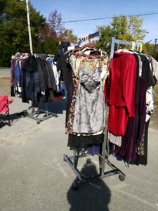 VACANT LOT WOMANS'RELOVED CLOTHING SALE