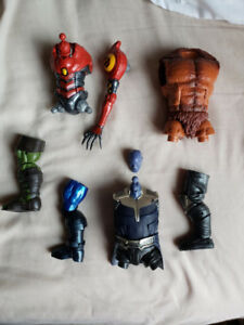 Marvel and DC Build a Figure (Baf) Parts and Funkos!