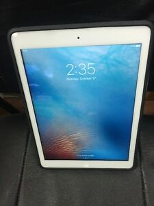 Mint Condition iPad Air White 32gb WIFI w/Case