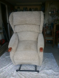 Riser/Recliner electric chair.