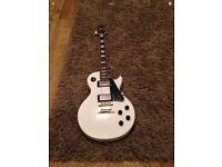 Epiphone Les Paul Custom White Stunning Guitar!
