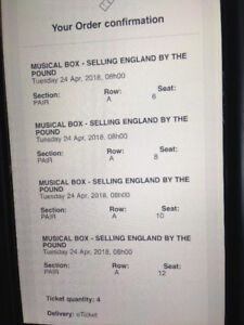 Musical Box Selling England by the Pound