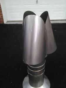 S/S Chimney Cap and adapter