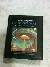 Atari Space Invaders 1978 Game Cartridge 34 YEARS OLD VINTAGE! Epping Whittlesea Area Preview