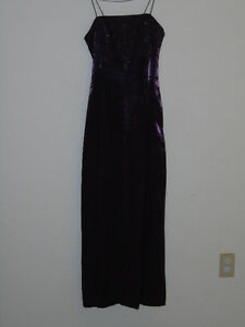 Grad Dress - Purple