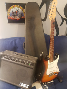 Guitar + Amp + Case Package Deal