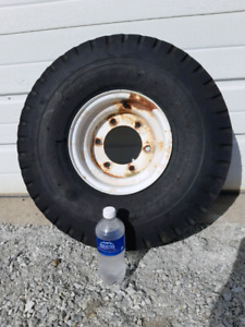 $40 Header Cart Tire and Rim