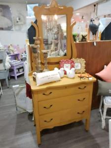 Gorgeous vintage dresser with mirror