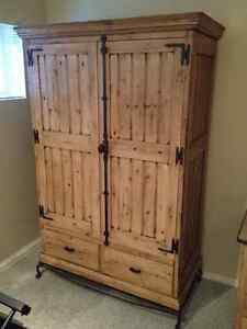 Wardrobe - Vintage French Oak - Great Condition