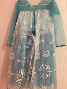Elsa Frozen princess dress - size 4T Cambridge Kitchener Area image 2