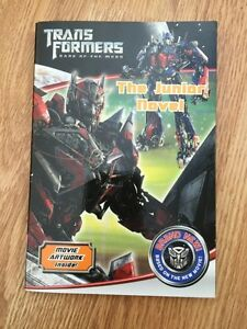 Transformers Dark of the Moon, The Junior Novel